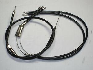 """Triumph T140 throttle cables 1 - 2 set 60-0733 60-7001 Bonneville Amal 45"""""""