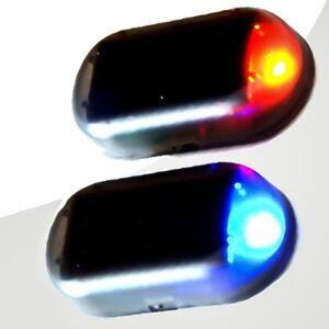Auto-LED-Solarlicht-Alarm-rot-Auto-Anti-Diebstahl-Warnung-blinkende-Lampe-AMBN