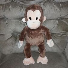 """Applause 17"""" Curious George Brown MONKEY Soft Plush Kohls Cares Russ Berrie"""