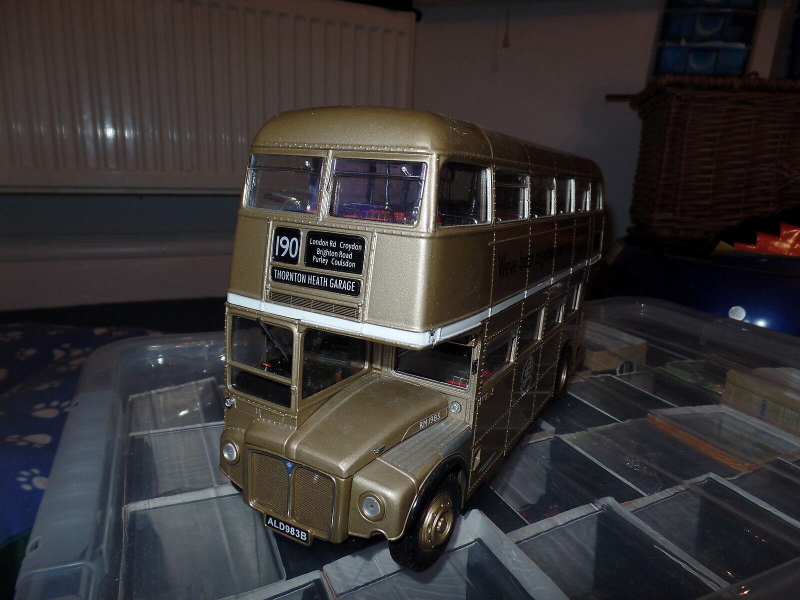 hasta un 70% de descuento Sun Estrella H2911 2911 1 1 1 24 Routemaster Bus RM1983 London Transport 50th Dorado 190  Sin impuestos