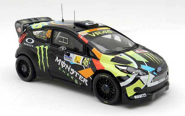 FORD FIESTA RS WRC #46 ROSSI WINNER PRIMERO RALLY MONZA 2012 1/43 IXO RAM618