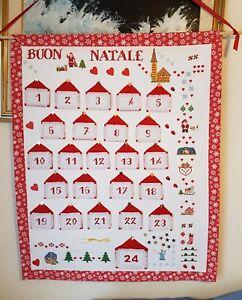 Calendario Dellavvento Punto Croce.Dettagli Su Calendario Dell Avvento Punto Croce
