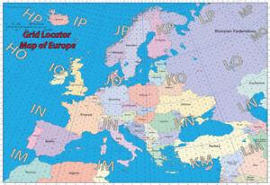 Carte De Ieurope.Locator Map Of Europe Ebay