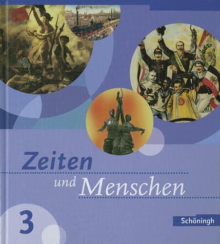 1 von 1 - Zeiten und Menschen 3. Ausgabe Baden-Württemberg (Klasse 8): Bildungsstandards 8