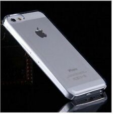CLEAR iPhone 5 5C 5S Crystal Clear Plastic Skin Case Cover Thin Transparent New