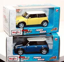 2er set Mini Cooper S + one 1:43 maisto