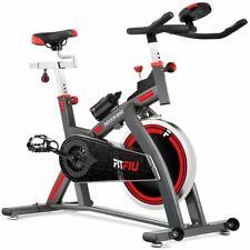 FITFIU - Bicicleta indoor BESP-300 de 24Kg volante de inercia de spinning