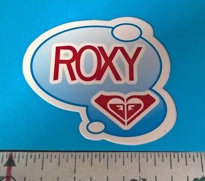 ROXY sticker decal ROXY Quiksilver snowboard surfboard sticker Red white blue