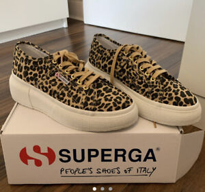 Superga Cheetah Print Trainer Size 6.5