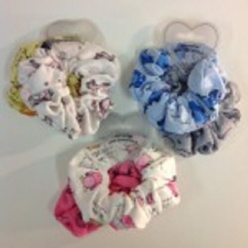 2x Pack of 2 hair scrunches different styles 4 in total