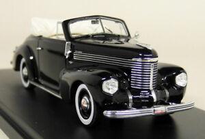 Neo 1/43 Echelle - 43265 Opel Kapitan Hebmuller Voiture modèle 1940 en résine noire