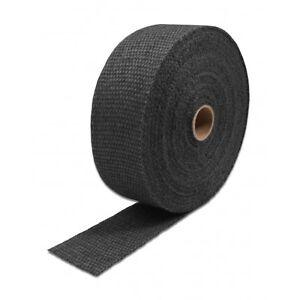 5 m Thermo Tec Auspuffband Hitzeschutzband Breite 50mm schwarz / graphite