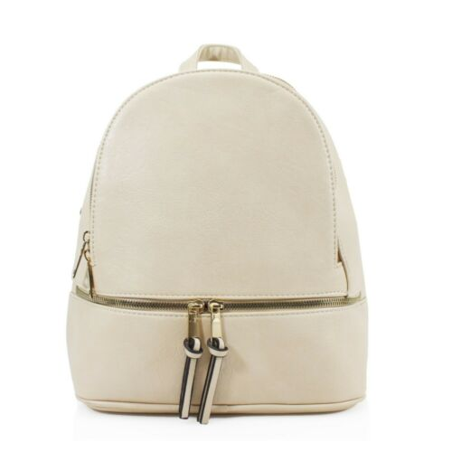 Girl Woman Synthetic Leather S-Medium Season Boutique Classic Design Backpack UK