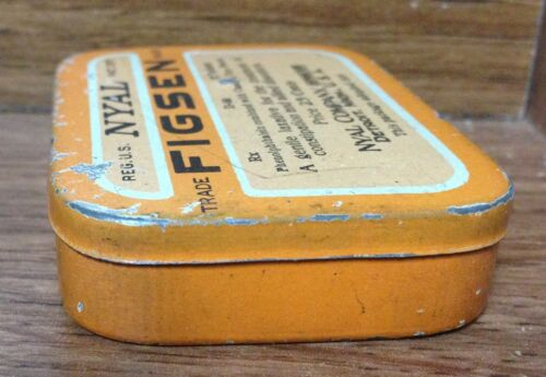 Vintage Small Tins Various Products