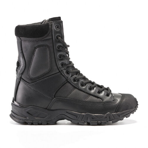 Outdoor Mens Leather Tactical Boots Military Combat Army SWAT Shoes Hiking
