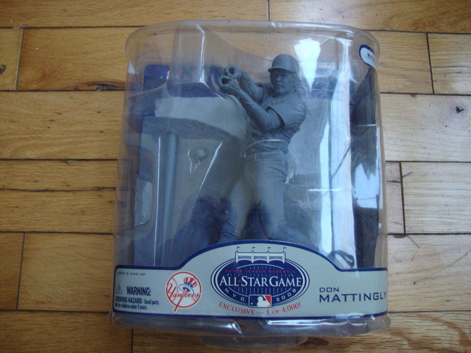 MCFARLANE DON MATTINGLY 2008 ALL-STAR GAME EXCLUSIVE NY YANKEES PROTOTYPE