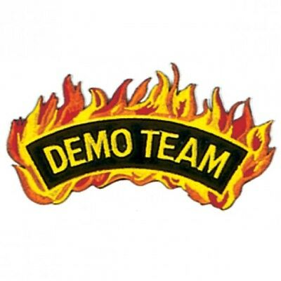 "Demo Team Martial Arts Patch 4/"""