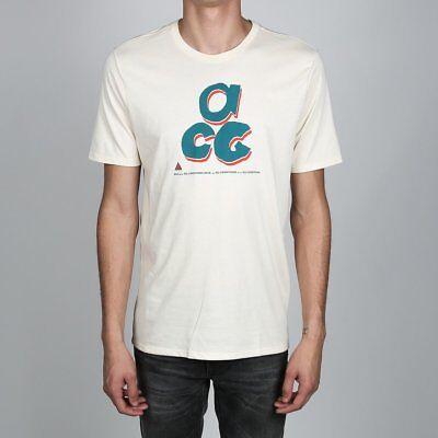 Mens Nike Sportswear ACG All Conditions Gear Shirt Sz M BQ6843-271 Light Cream