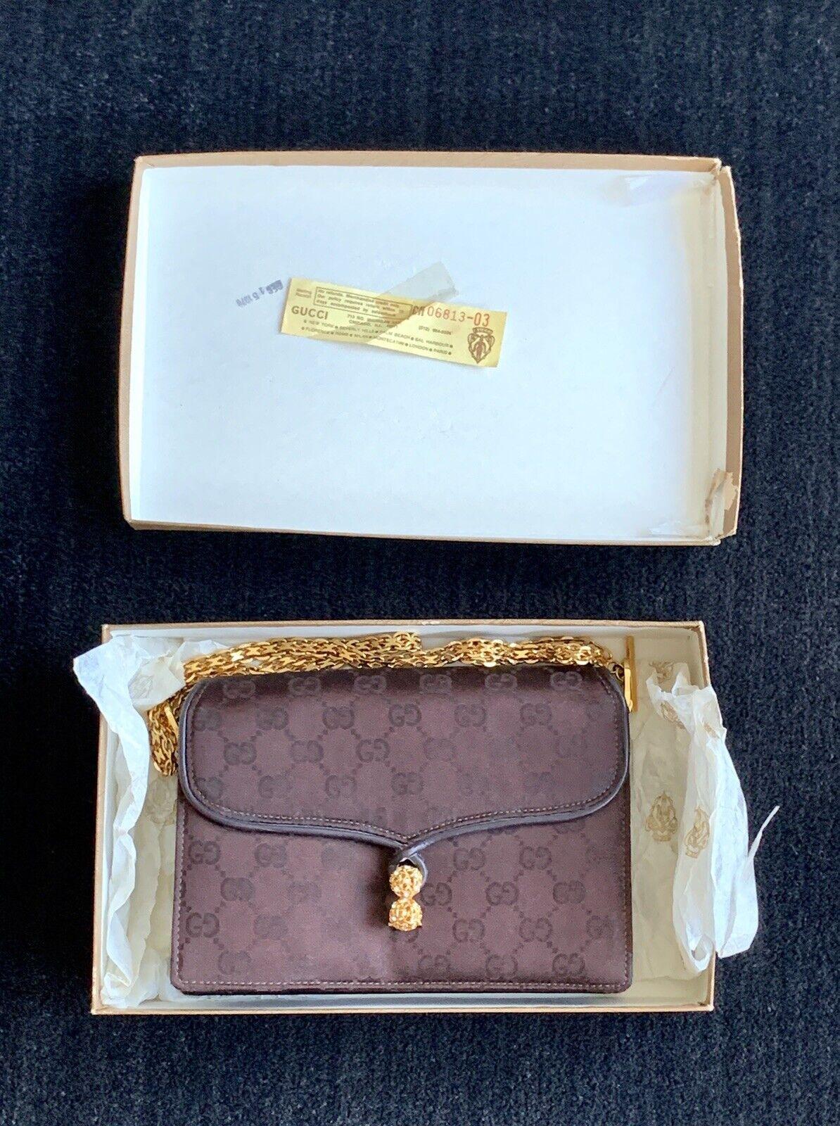 Gucci Vintage Classic Handbag with original box  - image 1