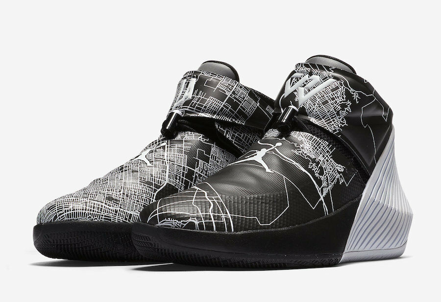 Nike jordan perché non città di volo la stella russell westbrook