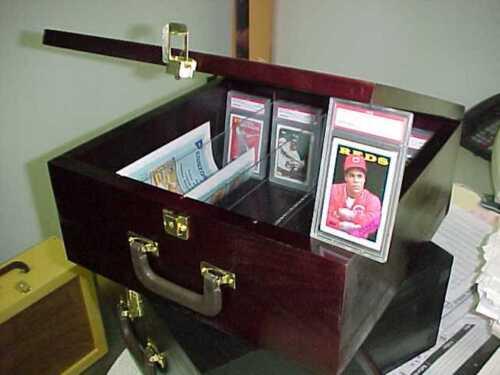 Graded baseball Card Storage Case for Graded /& ungraded cards PSA Beckett CHERRY