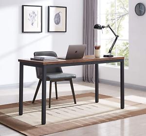 "55"" Industrial Computer Desk, Writing Desk, Home Office Desk, PC Laptop Table"