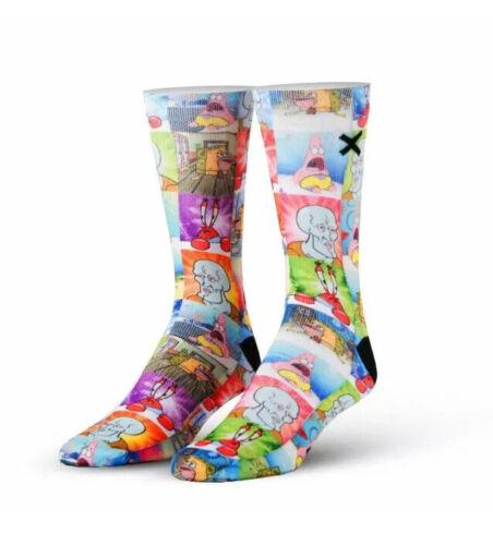 Men's Clothing, Shoes & Accessories Clothing, Shoes & Accessories Odd Sox SpongeBob SquarePants Sponge Memes Cartoon Socks Mens 6-13 Nickelodeon
