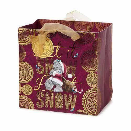 Cute Me to You Bear Small Christmas Gift Present Bag New Xmas