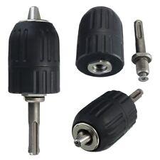 0.3-8mm 1//4 inch Keyless Drill Chuck Screwdriver Impact Driver Adaptor Hex  ZH6
