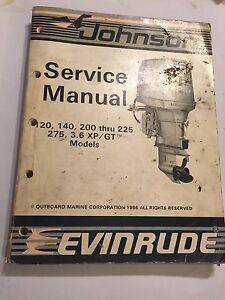 JOHNSON-EVINRUDE-120-140-200-225-275-300-XP-GT-LOOP-V-OUTBOARD-ENGINE-MANUAL-039-86