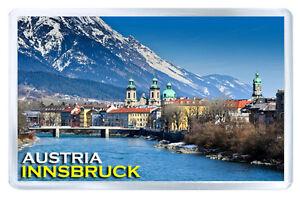 INNSBRUCK AUSTRIA MOD3 FRIDGE MAGNET SOUVENIR IMAN NEVERA