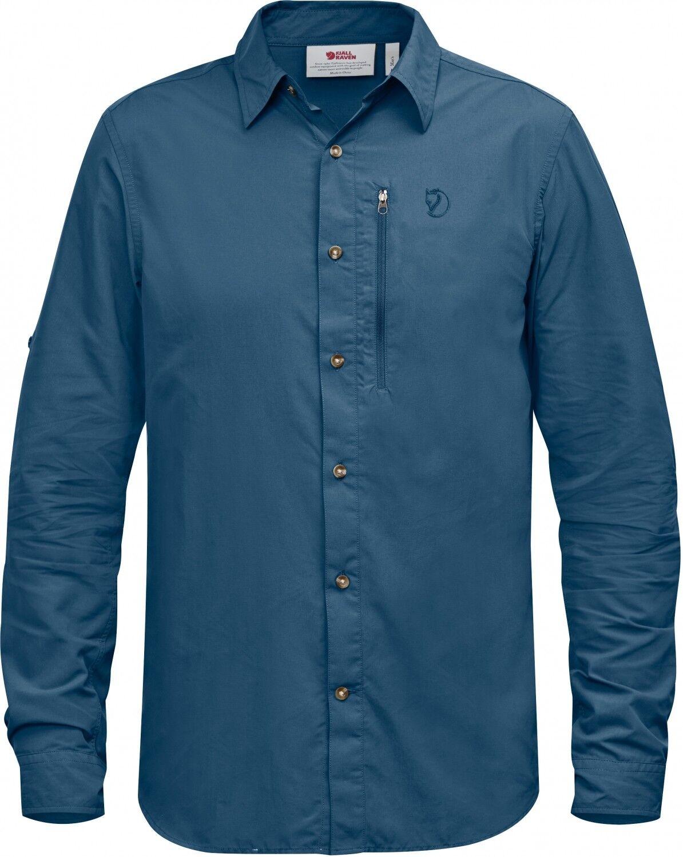 Fjällräven Abisko Hike LS Outdoorshirt (uncle-Blau)