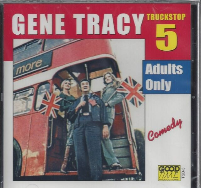 """GENE TRACY Truckstop ADULTS ONLY  Comedy Championship """"Farting"""" Contest NEW  CD"""