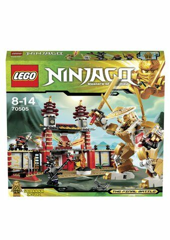 Brand New and Sealed BAGS--NO BOX Lego #  70505 Ninjago Temple of Light