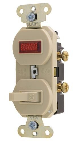 WALL SWITCH W//Indicator Light for Walk-in NEW 42193