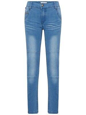 Name It Giovani X-jeans Slim Pantaloni Theo Travis Blu Chiaro Dimensione 92 A 164-mostra Il Titolo Originale Prendiamo I Clienti Come Nostri Dei