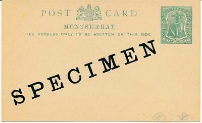 Liefern 602622 Sonstige Montserrat Gs Mit Specimen Aufdruck