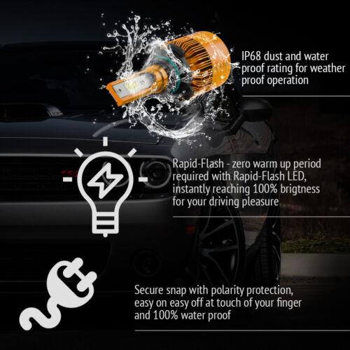 XENTRONIC LED HID Headlight kit 9006 White 2001-2006 Chevrolet Silverado 1500 HD