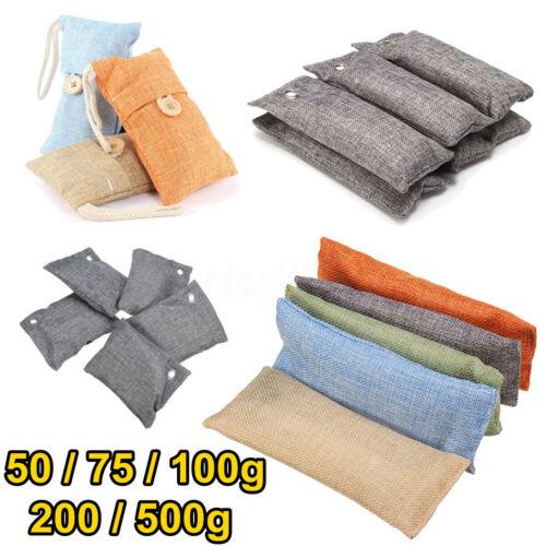 Activated Bamboo Charcoal Deodorizer Natural Air Purifier Bag