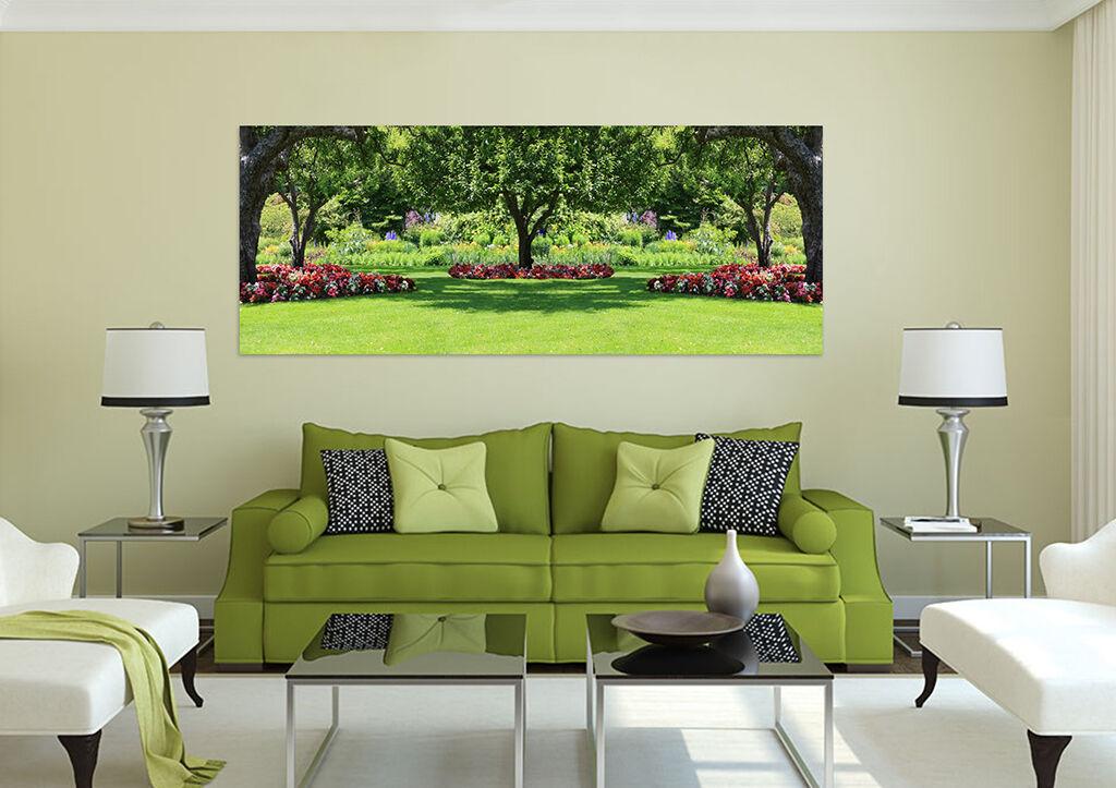 3D Schöne Bäume, Gras 256 Wandbild Fototapete BildTapete Familie AJSTORE DE