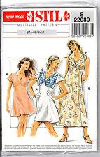 Neue Mode * STIL * Multisize Pattern # S22080 Misses' Dresses in Sizes 8 - 20