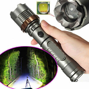 Tactical-Police-4000LM-Cree-XML-T6-LED-Flashlight-Zoomable-18650-Taschenlampe