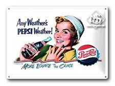 Nostalgie Blechschild - Pepsi-Cola - Blechschilder
