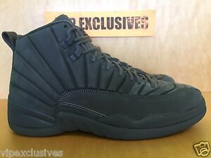 19a566f18595f Details about Nike Air Jordan XII Retro 12 PSNY Public School SZ 8 Dark  Grey 130690-003 lot