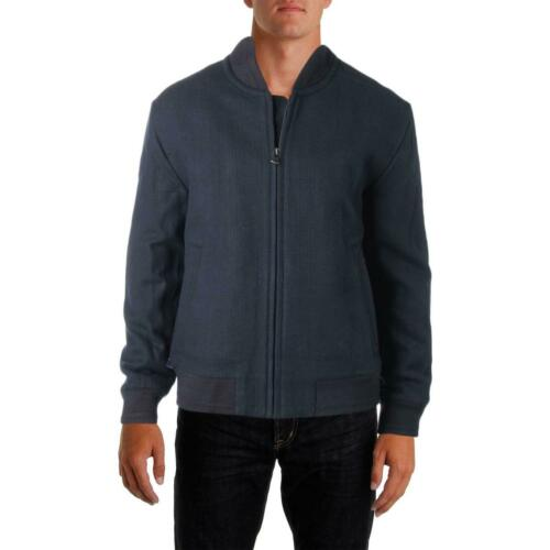 Marc New York by Andrew Marc Mens Blue Bomber Jacket Outerwear XXL BHFO 1885