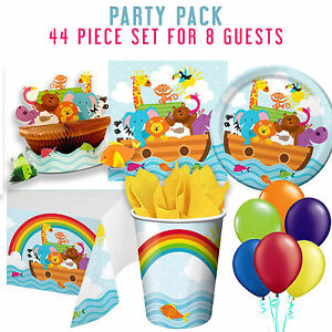Party supplies baby shower 1st birthday noah 39 s ark packs for 1st birthday party decoration packs