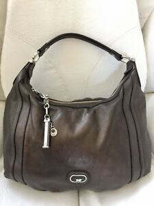 Braun-Buffel-Brown-Honeycomb-Leather-Hobo-Shoulder-Hand-Bag-Women