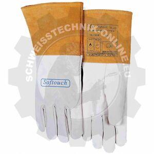 WIG Handschuh SOFTouch light, Größe L, WELDAS 10-1009 (WIG Schweißerhansc<wbr/>huh)