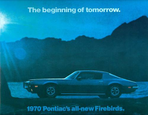 1970 FIREBIRD//TRANS  AM//FORMULA  SALES BROCHURE
