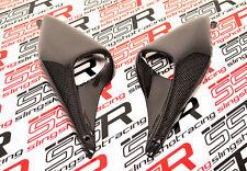 Ducati Monster S4 S2R M 620 695 800 1000 Air Ram Vent Panel Covers Carbon Fiber